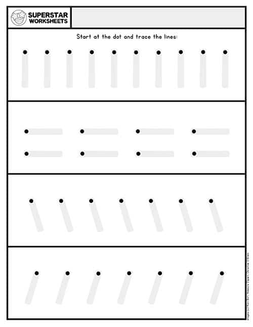 Preschool Assessment - Superstar Worksheets