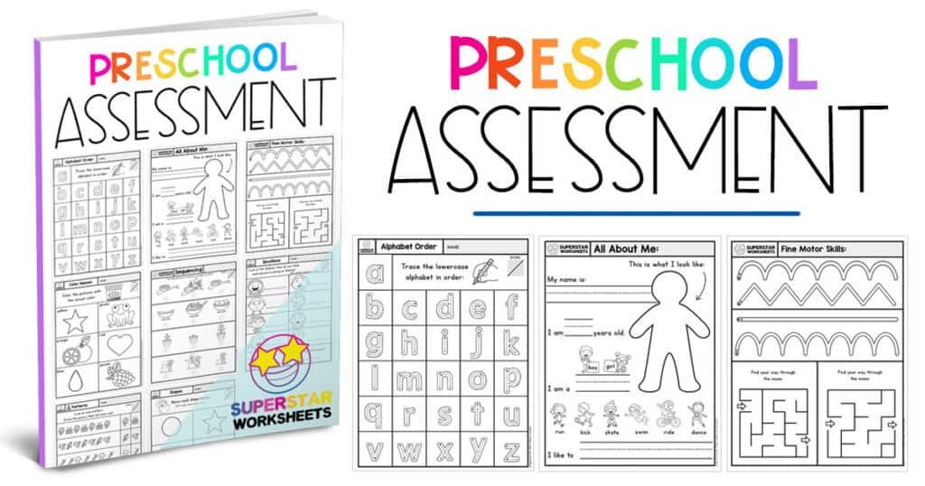 Preschool Worksheets - Superstar Worksheets