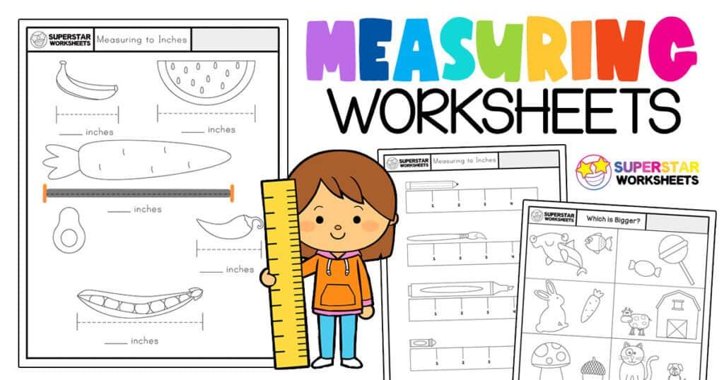 Kindergarten Measurement Worksheets - Superstar Worksheets