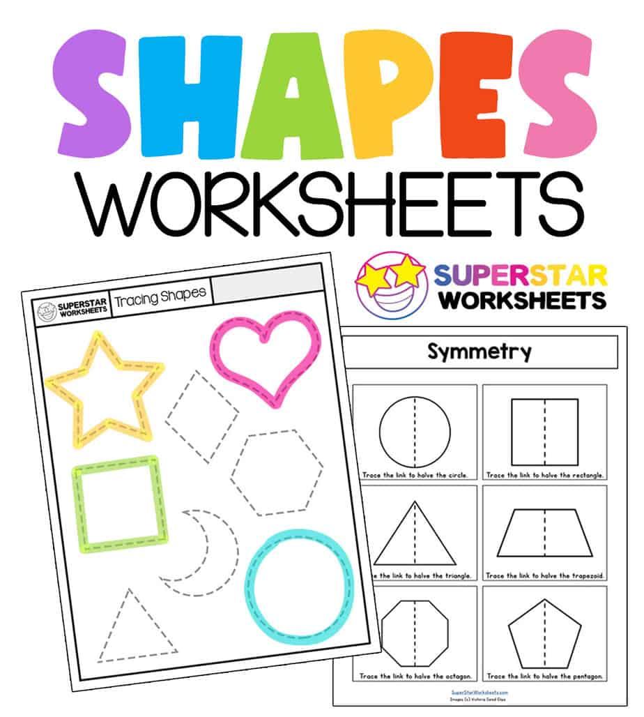 Shape Worksheets Superstar Worksheets