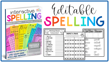Editable Spelling